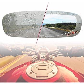 Resistente al Agua Protector antivaho para Casco de Moto Lente Universal para Casco de Moto Protector antivaho l/ámina antivaho Adhesivo para la Visera de la Lente del Moto