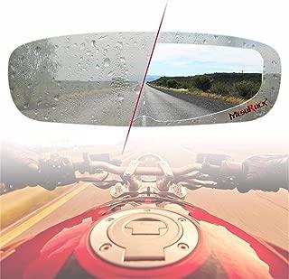 Wendysy Motorcycle Helmet Waterproof Lens Film, Clear Visor Lens Stickers Anti-Fog Film Universal Helmet Anti Fog Film Visor Shield Goggles Sticker