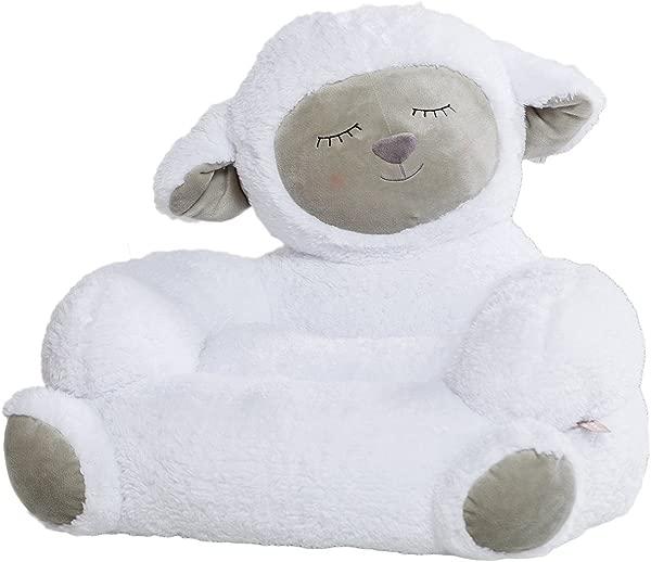 Trend Lab Children S Plush Character Chair Lamb White