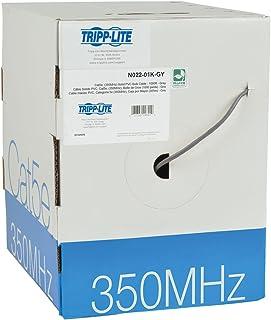 كبل ثلاثي الطبقات Cat5e 350 ميجا هرتز من مادة PVC الصلبة - رمادي 1000-ft.(N022-01K-GY)