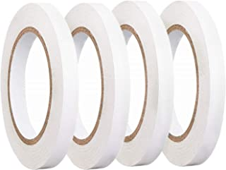 Double Sided Tape Heavy Duty for DIY,4 Rolls 10-MM by 30-Yards Arts, Crafts, Scrapbooking, Rubber Stamps, Card Making, Gift Wrapping (4-Rolls)