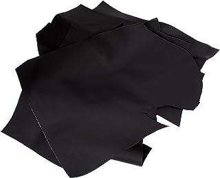 Luxflair Chutes de cuir de qualité supérieure 1 kg en différentes tailles. Pièces en cuir pour travaux manuels, couture, 1...