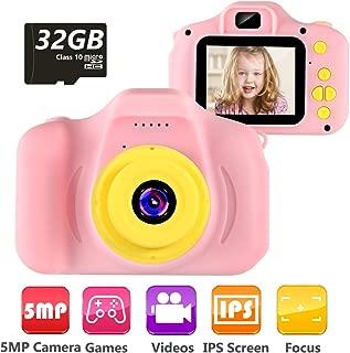 VATENIC Kids Camera Children Digital Cameras Toy 1080P 2.0