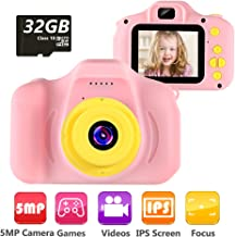 "VATENIC Kids Camera Children Digital Cameras Toy 1080P 2.0"" HD Toddler Video.."