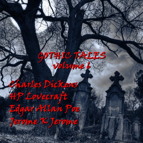『Gothic Tales of Terror: Volume 6』のカバーアート