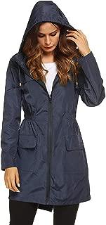Loosebee◕‿◕ Womens Lightweight Hooded Waterproof Active Outdoor Rain Jacket