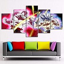 Printing Poster Home Decoration Jiren Vs Ultra Goku Cartoon Character Super Anime Picture Modular Wall Art Painting Boy Room