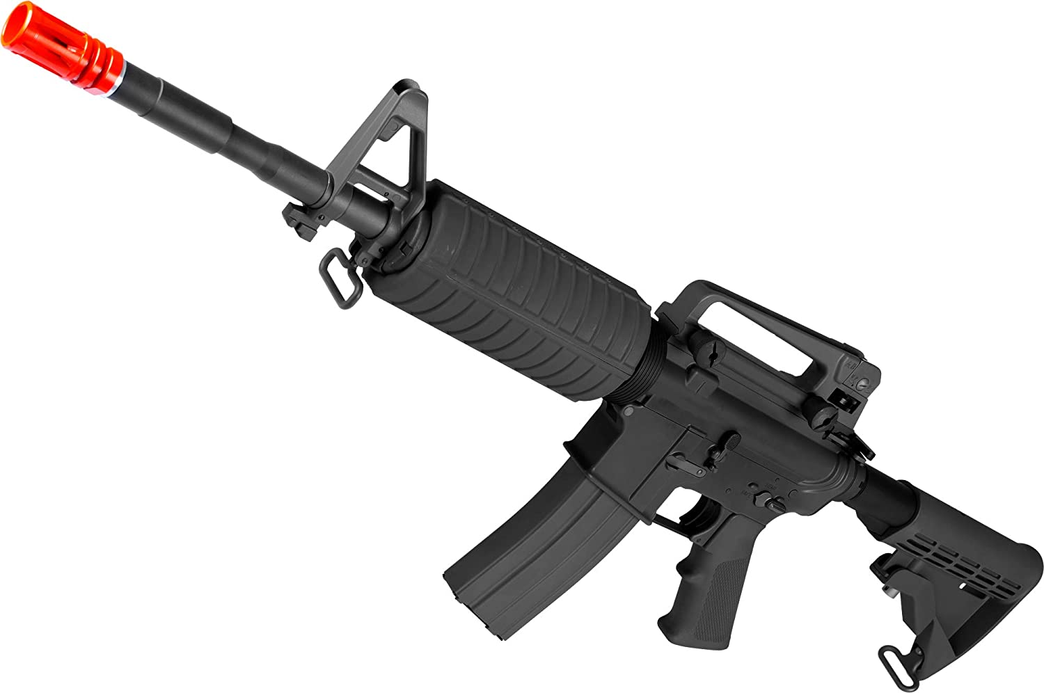 Evike WE Open Style System Full GB Metal M4 Limited time for free shipping Blowback Airsoft Gas Max 89% OFF