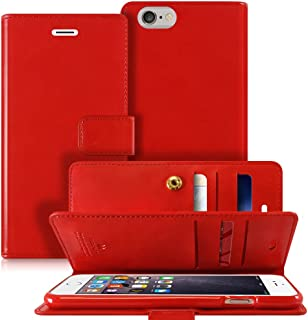 Goospery Mansoor Wallet for Apple iPhone 6S Case (2015) iPhone 6 Case (2014) Double Sided Card Holder Flip Cover (Red) IP6...
