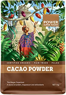 Power Super Foods Organic Origin Series Cacao Powder 1 kg