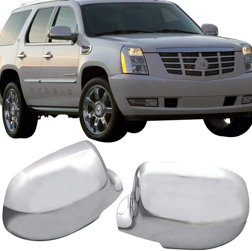 2pcs Chrome Free shipping on posting reviews Full Mirror Covers 1999-200 Set Designed Overlay OFFer For