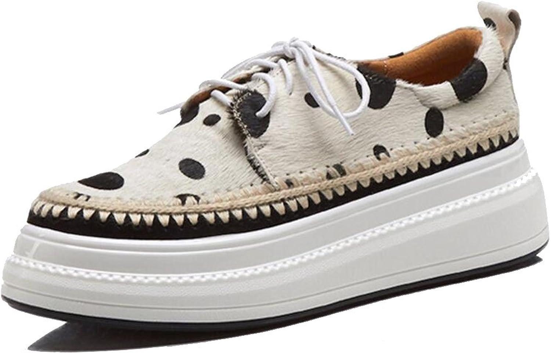 LOHU Frauen Flache Freizeitschuhe Runde Kopf Chunky High Heel Loafers Fashion Walking Freizeitschuhe Wei Gelb