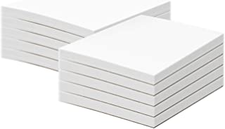 White Memo Pads, 50 Sheets Per Pad, (10 Pads Per Pack) with a Chipboard on The Back. (5 x 7)