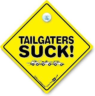 Tailgaters Zuigbord, Anti Taligater Auto Sign, Bumper Humper Sign, Zuignap Auto Venster Sign, Road Rage, Baby On Board Stijl