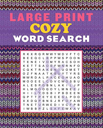 Large Print Cozy Word Search (Large Print Puzzle Books)
