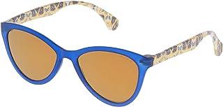 Police - SPL08654J15G Gafas de sol, Azul, 65 para Hombre