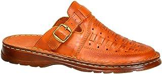 89ff6b16 Genuino Cuero Búfalo Calzado Hombre Cómodos Ortopédicos Sandalias Modelo -803/1