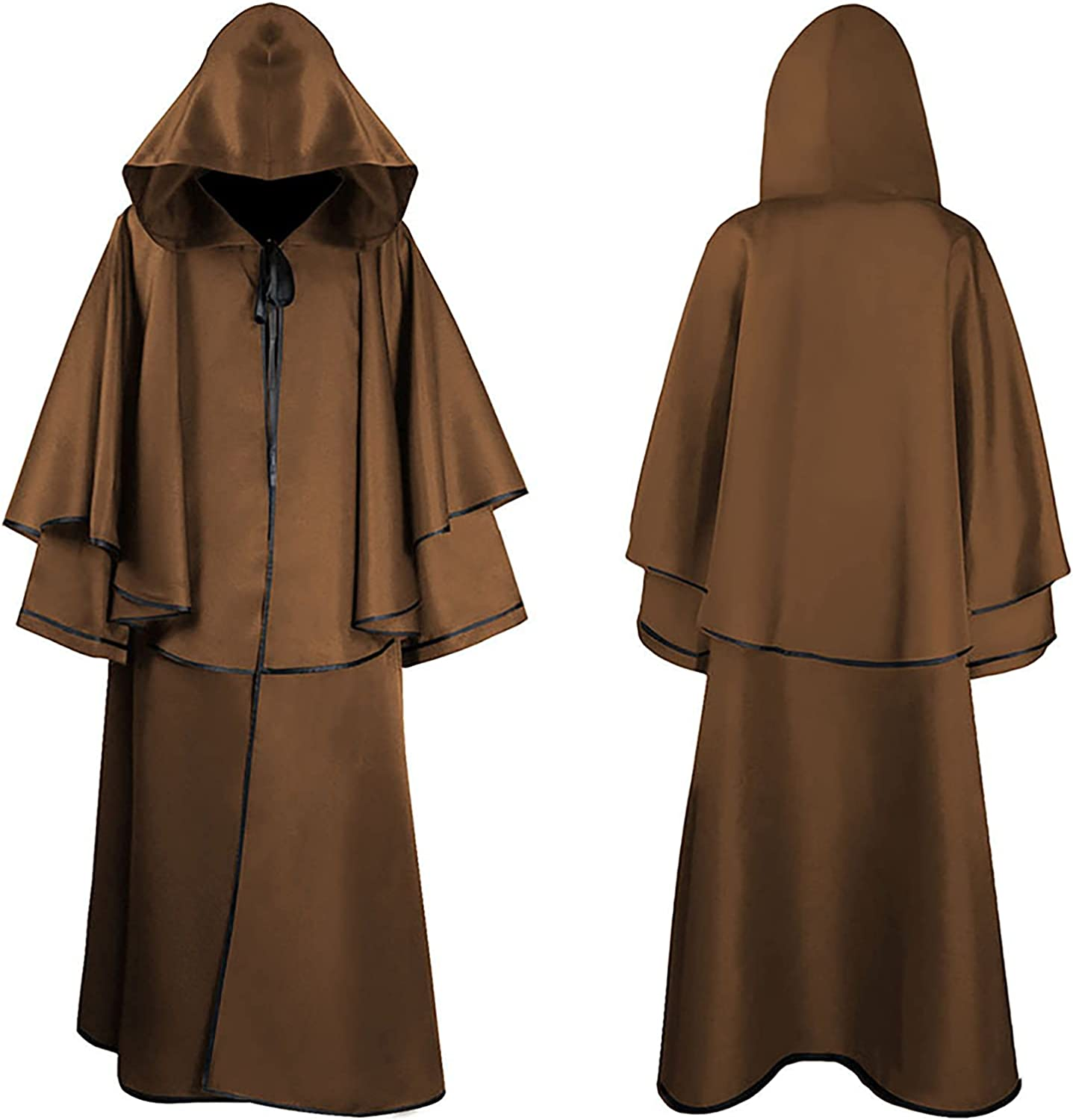 Adult Reservation Halloween Mesa Mall Costumes Cloak Hooded Tunic Wizard