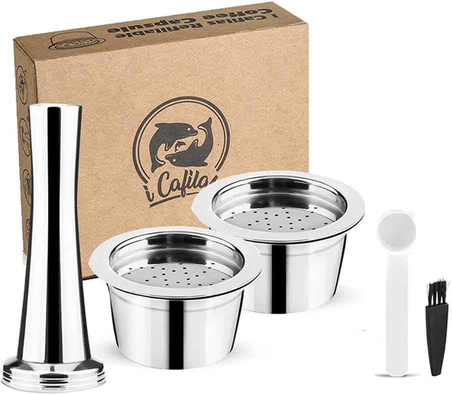 i Cafilcas New popularity Refillable K Fee Reusable Coffee Steel Cheap SALE Start Pods Stainless