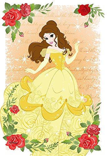 70ピース ジグソーパズル 美女と野獣 KIRIART —Belle— 【プリズムアートプチ】(10x14.7cm)