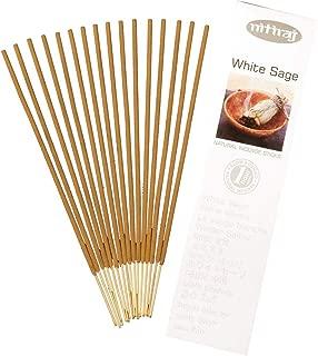 Nitiraj Platinum Natural Incense Sticks Slow Burning 1hr. 2Pack White Sage