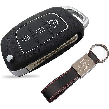 Auto Ersatz Ferbedienung Schlüssel Gehäuse 3 Tasten für KIA und HYUNDAI i10 i20