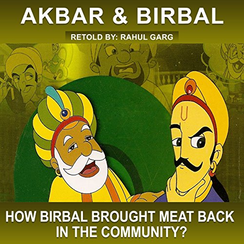 How Birbal Brought Meat Back in the Community? audiobook cover art