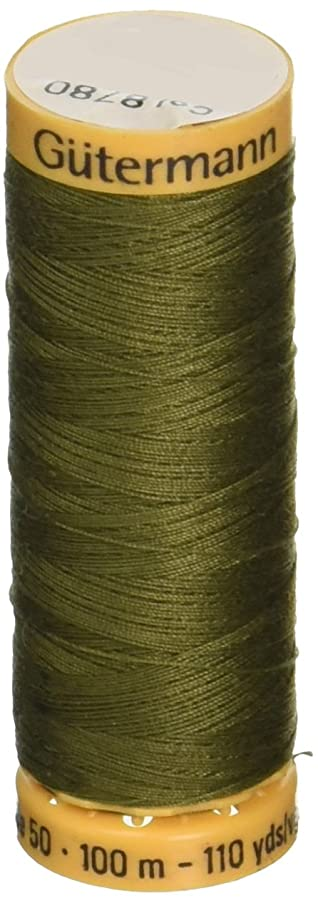 Gutermann Natural Cotton Thread 110 Yards-Bronze