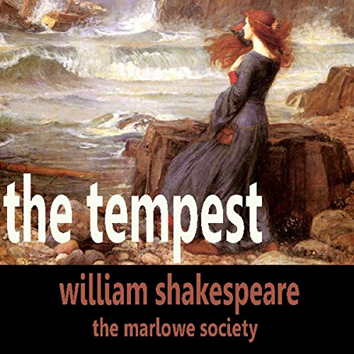The Tempest audiobook cover art