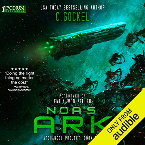 Noa's Ark     Archangel Project, Book 2              By:                                                                                                                                 C. Gockel                               Narrated by:                                                                                                                                 Emily Woo Zeller                      Length: 10 hrs and 28 mins     51 ratings     Overall 4.3