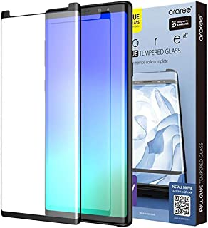 Samsung Galaxy Note 9 Araree Core Full Glue 3D Tempered Glass Screen Protector - Black