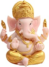 sharprepublic Lord Ganesha Figurine Elephant God of Success Buddha Office Decor Crafts