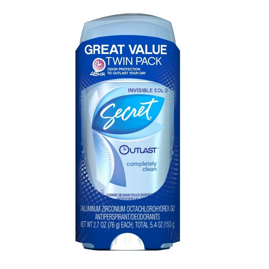 Secret Outlast Xtend Completely Clear Louisville-Jefferson County Mall Quality inspection Clean Antiperspirant Gel