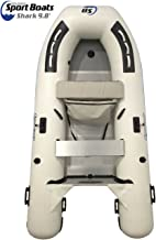 Inflatable Sport Boats Shark 9.8' - Model 300 - Aluminum Floor Premium Dinghy with Seat Bag