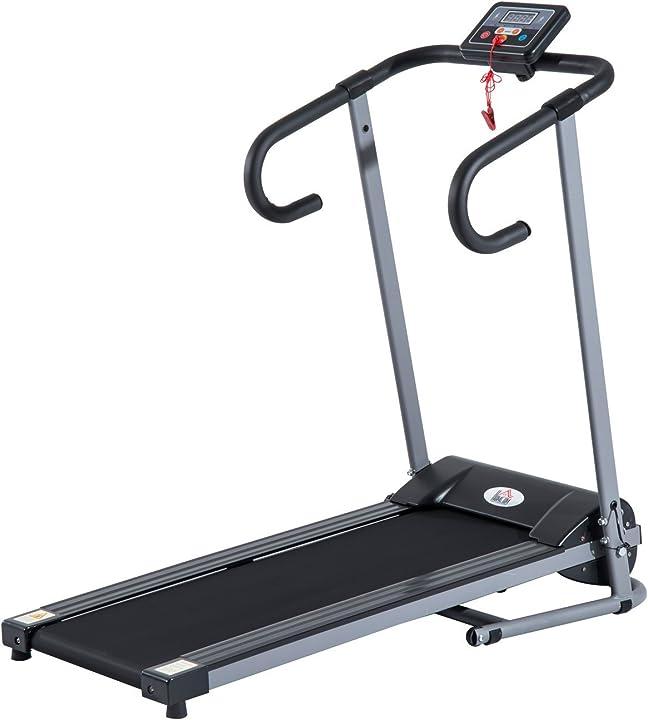 Tapis roulant elettrico attrezzo ginnico richiudibile attrezzo per l'allenamento domestico homcom B1-0097
