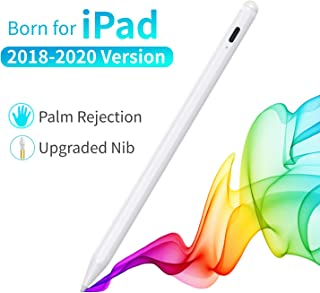 Stylus Pen for iPad, Upgraded iPad Pencil with Palm Rejection High Precise, Compatible with iPad 7th Gen/iPad 6th Gen/iPad Pro 3rd 2018&2020 (11/12.9 Inch)/iPad Air 3rd Gen/iPad Mini 5th Gen