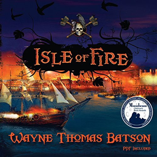 Isle of Fire audiobook cover art