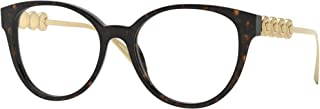 Versace optical frame VE3278 108 DARK HAVANA havana plastic size: 51 mm woman