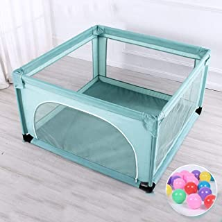 Hfyg Playpens Child Safety Fence with Playpen  Panels Barrier Fence for Children Outdoors with Ocean Ball pens