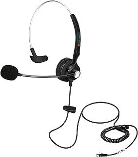 Fivetech Headset for Avaya 1608 1616 9040 9620 9630 9670 & Panasonic Cisco 7910 7911 SNOM 320 360 370 710 720 760 IP