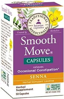 Traditional Medicinals - Smooth Move Senna, 50 capsules