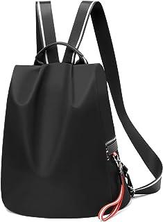 Backpack Purse for Women Waterproof Nylon Anti-theft Fashion Lightweight School Travel Shoulder Bag