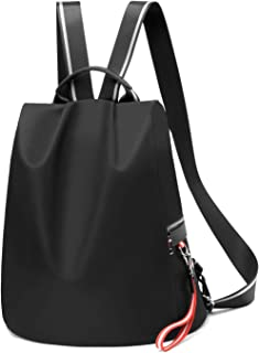Backpack Purse for Women Waterproof Nylon Anti-theft Fashion Lightweight Travel Shoulder Bag