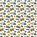Construction Birthday Gift Wrapping Paper - Folded Flat 30 x 20 Inch (3 Sheets)