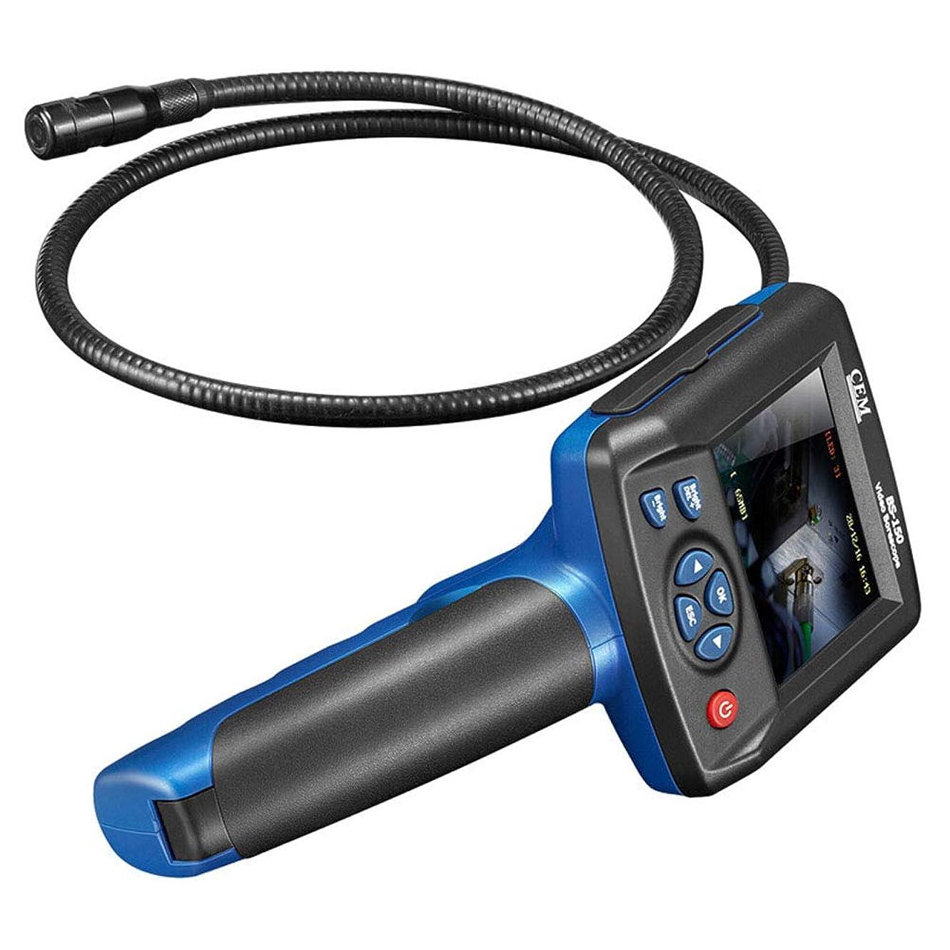 テーブル中央先史時代のポータブル 検査 カメラ、 下水道 産業用 内視鏡 防水 ヘビ DVR 記録 ビデオ 3.2で インチ LCD 画面 機械的 メンテナンス 検出 ビデオ 楽器