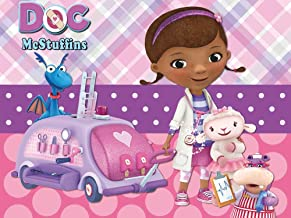 Doc McStuffins Backdrop | Birthday | Girl | Party Supplies | Banner | Background | Photography