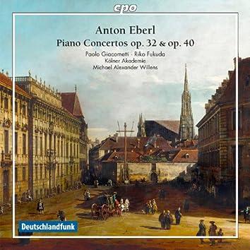 Eberl: Piano Concertos
