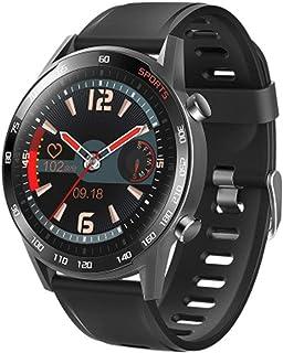 SAHWIN® Pulsera Fitness, Reloj Inteligente Impermeable IP67 con Monitor De Sueño Pulsómetro Podómetro, Caloría GPS para Deporte, Reloj Inteligente Mujer Niños,Negro