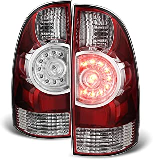ACANII - For 2005-2015 Toyota Tacoma LED Tail Brake Lights Replacement 05-15 Left+Right