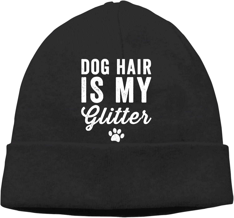Dog Ranking Ranking TOP3 TOP5 Hair is My Glitter Slogan Unisex Beanie Hats Warm Vintag Cap